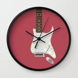 Candy Apple Twang Wall Clock
