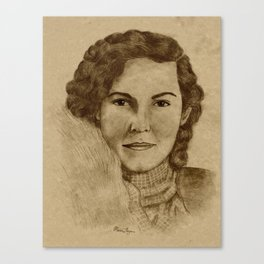 1930's Woman Canvas Print