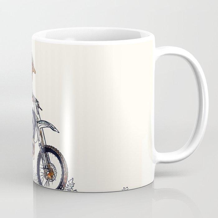 """High Flyer"" Motocross Racer Coffee Mug"
