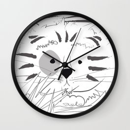 El gato tigre Wall Clock