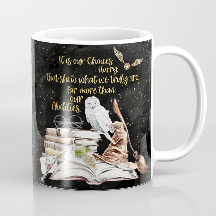 Our Choices - Golden Dust Coffee Mug