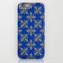 Medieval Iron Crosses Pattern iPhone Case