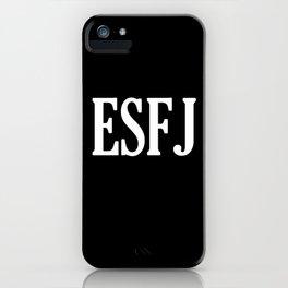 ESFJ Personality Type iPhone Case
