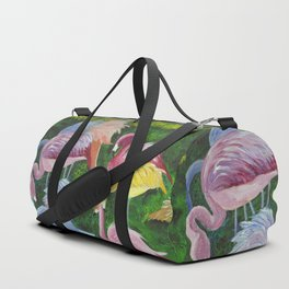 Flamingo Love Duffle Bag