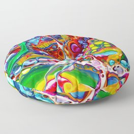 Kaleidoscope I Floor Pillow