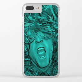 Live! Still Alive! Clear iPhone Case