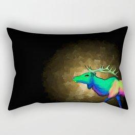 Elk #7 Rectangular Pillow
