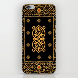 pattern of the past 1 iPhone Skin