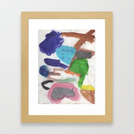 Colors 1 Framed Art Print