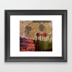 WOOD// Framed Art Print