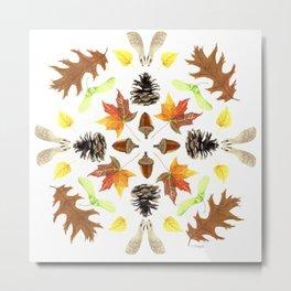 Tree Mandala 1 - Watercolor Metal Print
