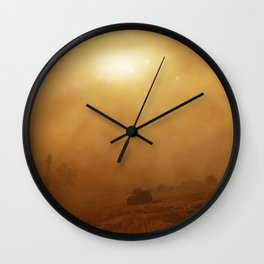 The Lost Panther Wall Clock