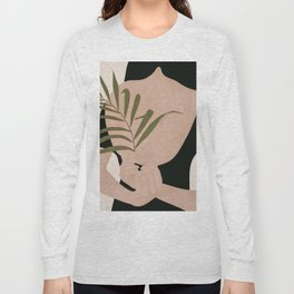 Little Leaf Behind my Back Long Sleeve T-shirt