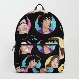 All over my face (M) Backpack