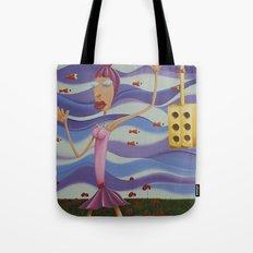 Floating Dancer Tote Bag