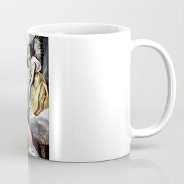 """El Greco (Domenikos Theotokopoulos) """"The Annunciation (1614)"""" Coffee Mug"""