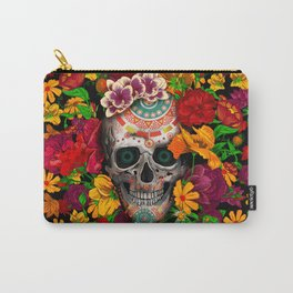 Day of the dead sugar skull flower iPhone 4 4s 5 5c 6, ipod, ipad, pillow case Carry-All Pouch