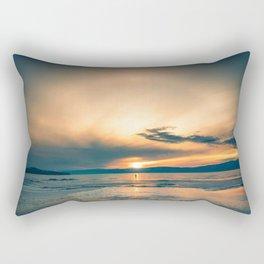 Walking In Circles Rectangular Pillow