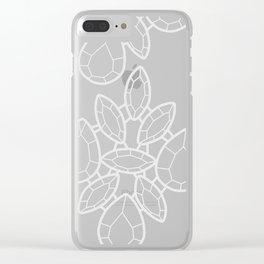 Gemstones 8 Clear iPhone Case