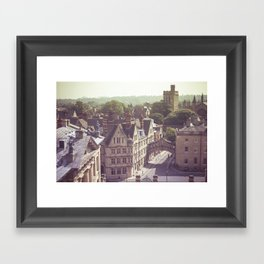 Oxford England Framed Art Print