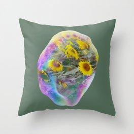 Maria Field of Hope Spirit Throw Pillow