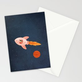 Kid Astronaut Stationery Cards