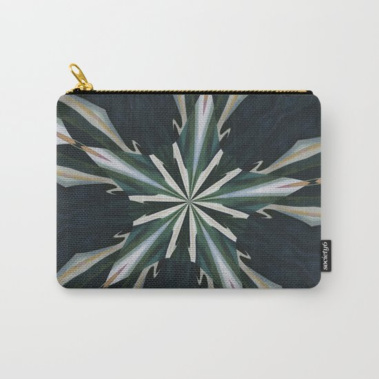 Calla Lily Star Kaleidoscope Carry-All Pouch