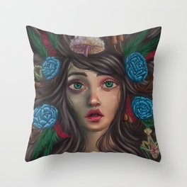 Beautiful Decay Throw Pillow