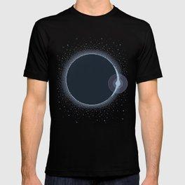 Total Solar Eclipse Summer 2017 Commemorative Poster (Pixel Art) T-shirt