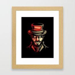 Dr jekyll Half Monster Framed Art Print