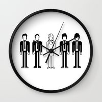 blondie Wall Clocks featuring Blondie by Band Land