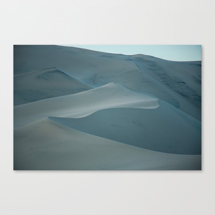 Death Valley dunes Canvas Print