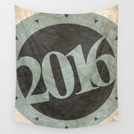 Two Thousand Sixteen Wall Tapestry