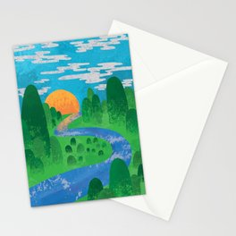 The Valley Stationery Cards