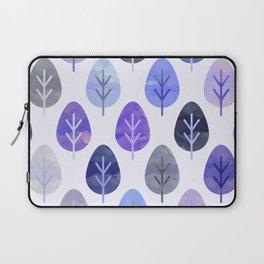 Watercolor Forest Pattern #5 Laptop Sleeve