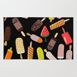 Take your pick of ice cream on a stick Rug