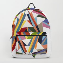 Multicolor Diamond Backpack