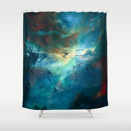 δ Wezen Shower Curtain