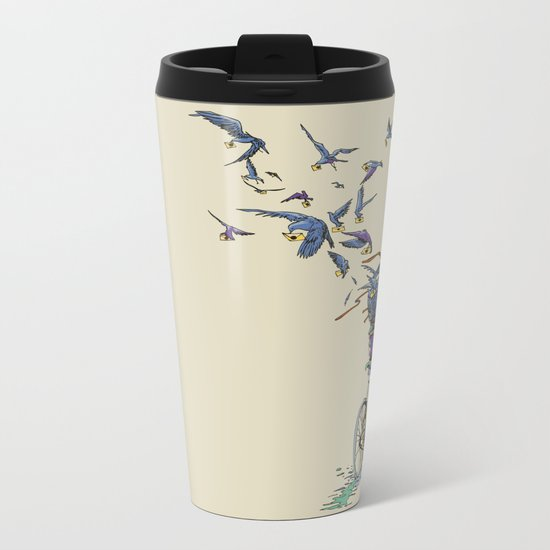 TweetJourney Metal Travel Mug