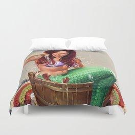 Not So Little Mermaid Ariel Duvet Cover