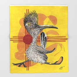 Roadrunner 1 Throw Blanket