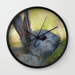 The cutest rabbit Wall Clock