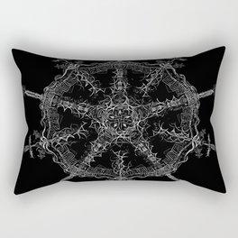 Petrarch's Argument Rectangular Pillow