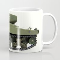 tank girl Mugs featuring TANK by John Medbury (LAZY J Studios)