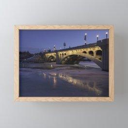 Early Morning Centre St. Bridge Framed Mini Art Print