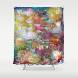 Cosmos Love Shower Curtain