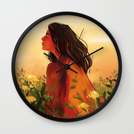 Lorde Sunset Wall Clock