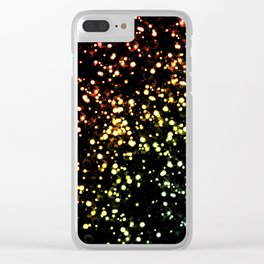 color flashes Clear iPhone Case