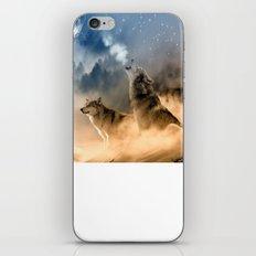Fantasy Wolf Wolves Animal iPhone & iPod Skin