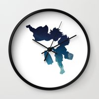 ponyo Wall Clocks featuring Ponyo by From Flora With Love